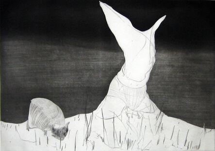 Nicola Tyson, 'Pastoral: Figure and Grazing Animal', 2007