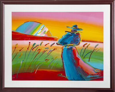 Peter Max, 'Walking in the Reeds', 1992