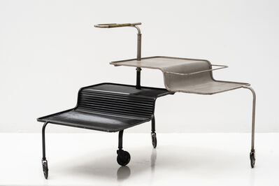 Mathieu Matégot, 'Orientable serving table', ca. 1950