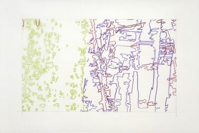 Ingrid Calame, '#276 Drawing (Tracings from the Indianapolis Motor Speedway)', 2008