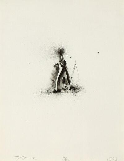 Jim Dine, 'Ten Winter Tools (Pliers & Crescent Wrench)', 1973