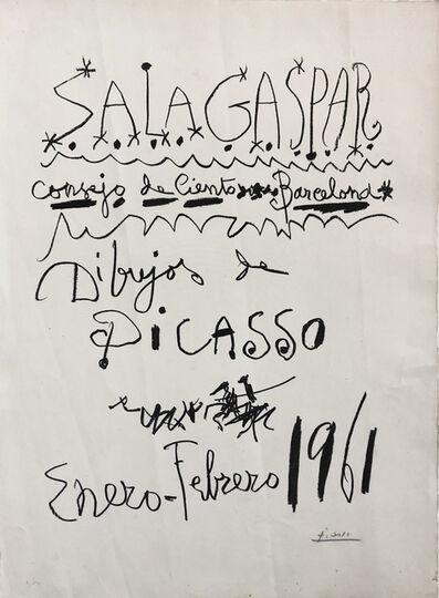 Pablo Picasso, 'Dibujos de Picasso', 1961