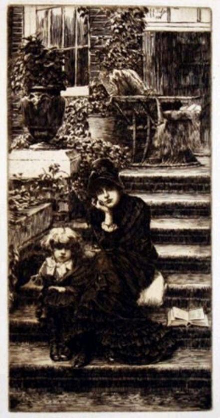 James Jacques-Joseph Tissot, 'Reverie', 1881
