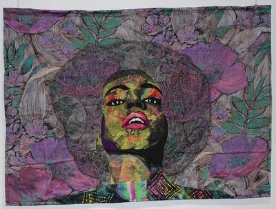 Bisa Butler, 'Natural Crown', 2016