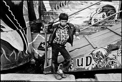 Yolanda Andrade, 'El niño y el infierno', 1985