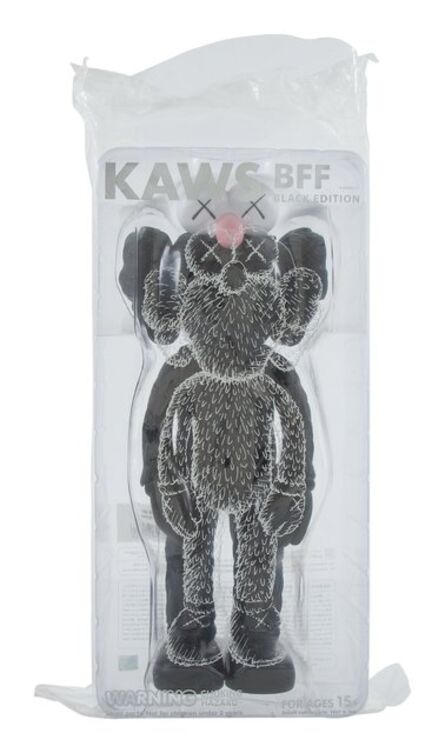 KAWS, 'BFF Companion (Black)', 2017