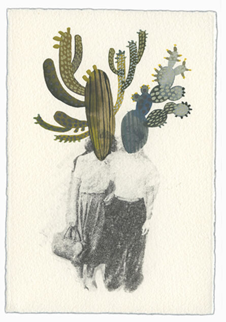 Ashley Mistriel, 'Before You (Cactus People 6)', 2016