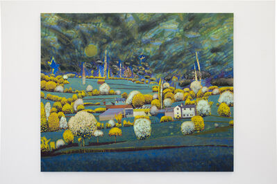 David Brian Smith, 'Shropshire Moon', 2016