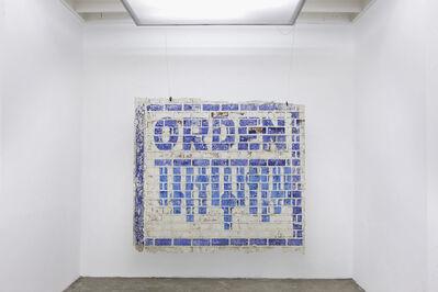 José Carlos Martinat, 'Orden', 2014