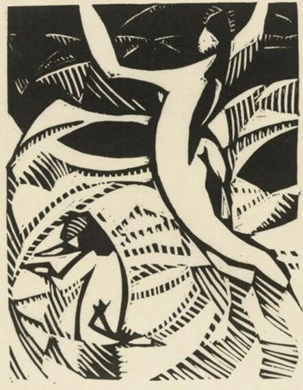 Claude Flight, 'Into the Sea', ca. 1925