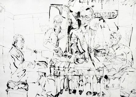 Jonathan Glass, 'Kenny Barron Quintet at Jazz Standard', 2014