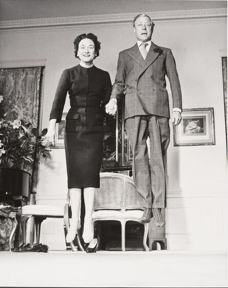 Philippe Halsman, 'The Duke and Duchess of Windsor', 1956
