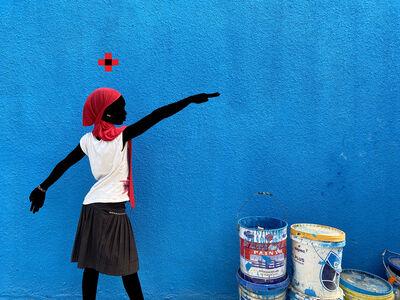 Saidou Dicko, 'Le foulard rouge', 2021