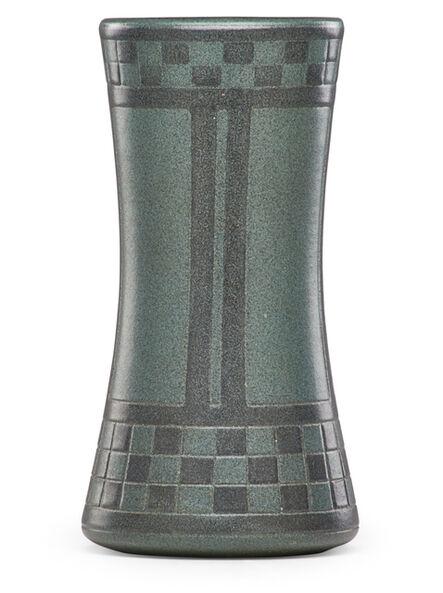 Arthur Hennessey, 'Fine large vase with geometric pattern'