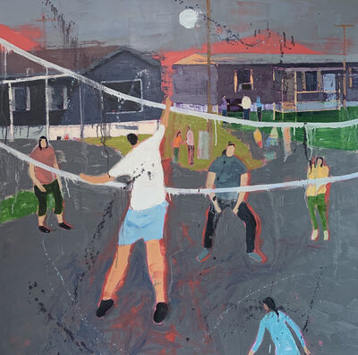 Lindy Chambers, 'Street Volley ', 2020