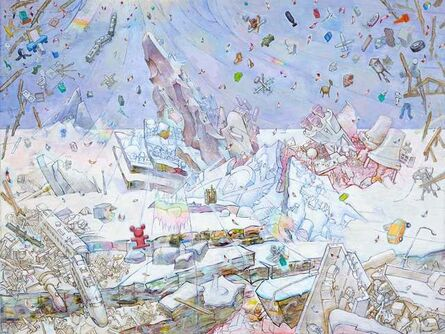 Hiro Sakaguchi, 'Gravitational Pull: Land (After Casper David Friedrich)', 2014