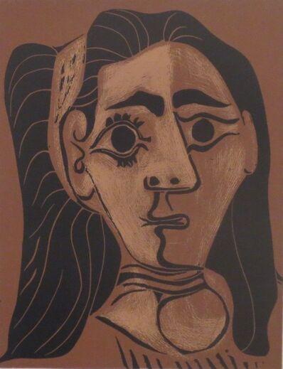 Pablo Picasso, 'Femme aux cheveux flous (Jacqueline au bandeau II)', 1962