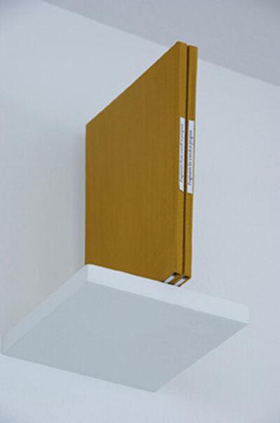 Elisabeth S. Clark, 'Fragments for a work in progress I Fragments from a work in progress', 2008
