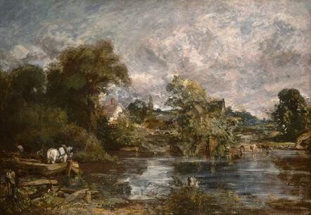John Constable, 'The White Horse', 1818-1819