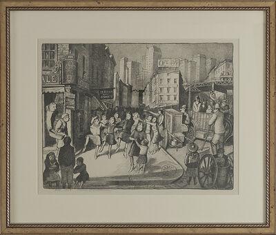 """Glenn O. Coleman, '""""Hurdy Gurdy Ballet""""', 1928"""