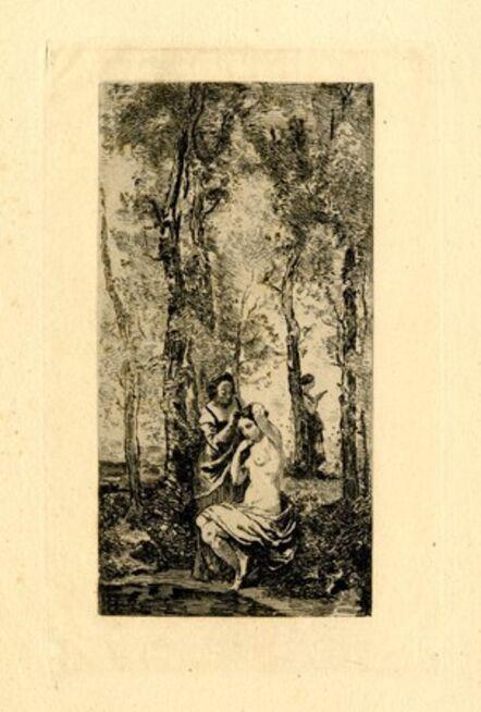 Jean-Baptiste-Camille Corot, 'La toilette', 1873