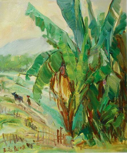 YING LEUNG WONG, 'Banana tree - farming', 2008