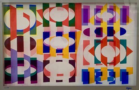 Yaacov Agam, 'Multigraph 3D Wall Sculpture', 1981