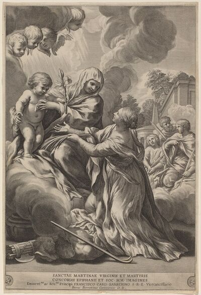 after Pietro da Cortona, 'Virgin and Child with Martyrs', ca. 1660