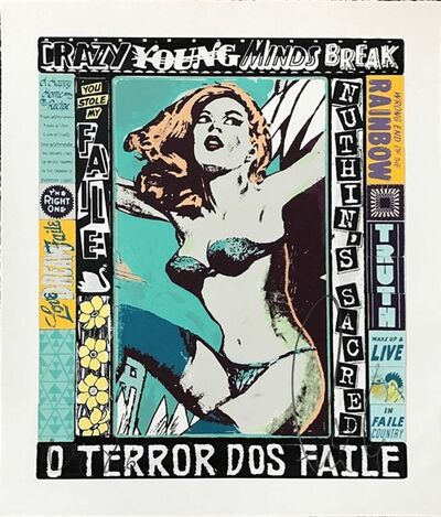 FAILE, 'THE RIGHT ONE, HAPPENS EVERYDAY BY FAILE ', 2014