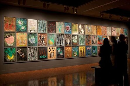 Dale Chihuly, 'Drawing Wall', 2009
