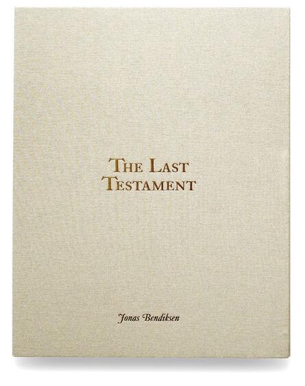 Jonas Bendiksen, 'The Last Testament special edition with print'
