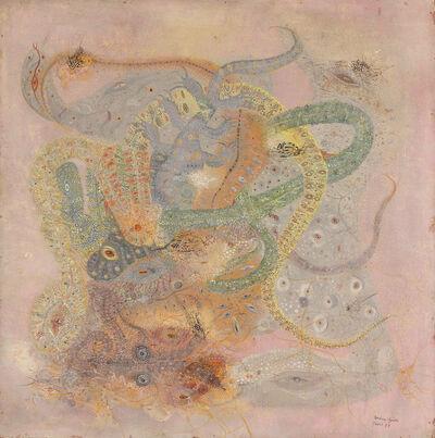 """Unica Zürn, 'La Serpenta[""""The Serpent""""]', Paris-1957"""