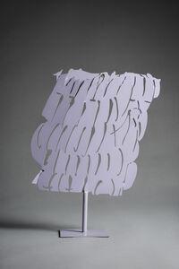 Pietro Consagra, 'Ferro trasparente grigio', 1966