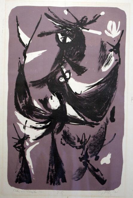 Seong Moy, 'Lady in Flight', 1952