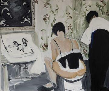 Claudia Doring Baez, 'Brassaï- Washing up in a Brothel, Quincampoix Street, Paris c. 1932', 2019