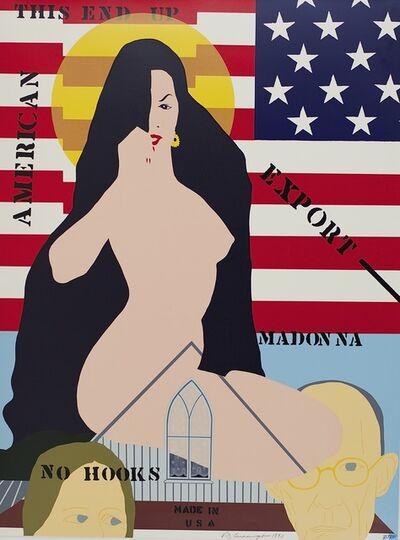 Allan D'Arcangelo, 'American Madonna', 1990