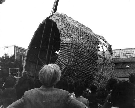 Marta Minujín, 'La Torre de Pan de James Joyce', 1980