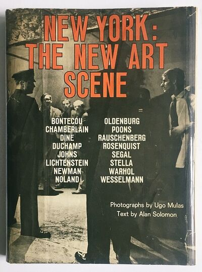 Jim Dine, 'New York: The New Art Scene (Hand Signed by Jim Dine, Larry Poons and Frank Stella)', 1967