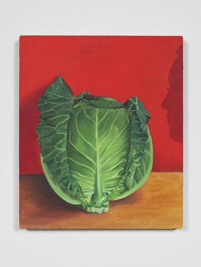 Allison Katz, 'Cabbage (and Philip) No. 27', 2020