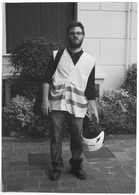 Diego Tonus, 'Self-Portrait as a Postman', 2015