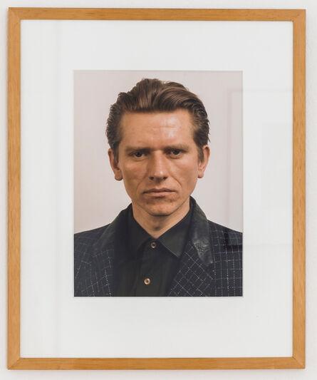 Thomas Ruff, 'Porträt (M. Syniuga)', 1986