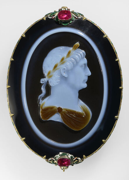 Unknown Artist, 'Cameo of Emperor Trajan', About 100