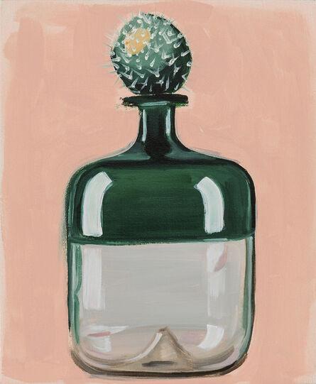 Sara Berman, 'Cacti and Venini in Green (Single)', 2017