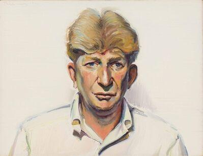 Wayne Thiebaud, 'Portrait of Sterling Holloway'