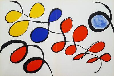 Alexander Calder, 'Derriere Le Miroir No. 190 (page 14,15)', 1971