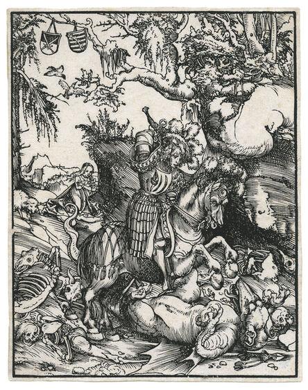 Lucas Cranach the Elder, 'St. George on Horseback slaying the Dragon.', ca. 1509