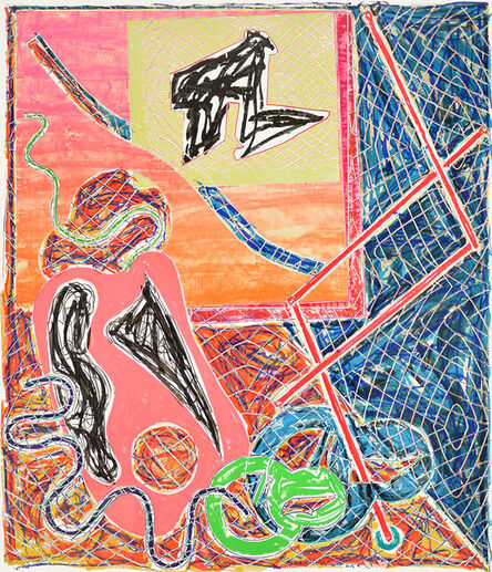 Frank Stella, 'Shards 1', 1982