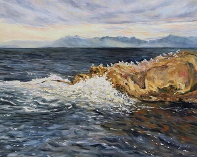 Terrill Welch, 'A Dramatic Salish Sea', 2020