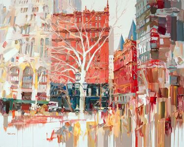 Josef Kote, 'View From City Hall, NYC', 2021