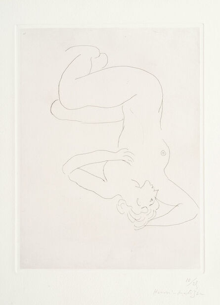 Henri Matisse, 'Nu assis visage de profil', 1931